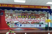 Chi Đoàn Cty TNHH MTV Khai thác thủy lợi AG tham dự Hội thi Văn hóa doanh nghiệp năm 2018