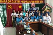 CĐCS Công ty TNHH MTV Khai thác Thủy lợi An Giang tổ chức họp mặt chào mừng kỷ niệm 88 năm Ngày thành lập Hội Liên hiệp phụ nữ Việt Nam
